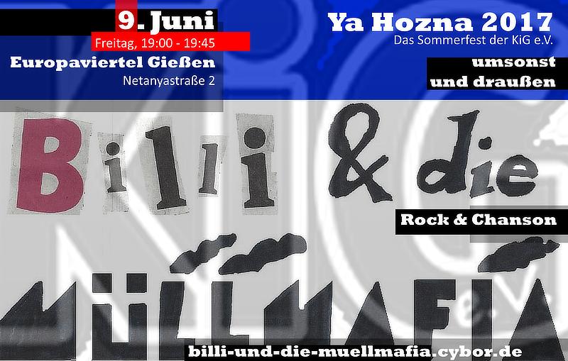 Ya Hozna 2017 - Sommerfest der Kulturinitiative Gießen KiG